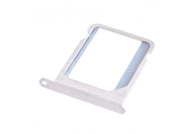 Лоток для SIM-карты для iPhone 4, 4S серебристого цвета