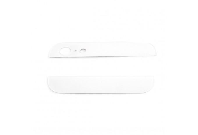 Комплект белых стеклянных вставок для iPhone 5