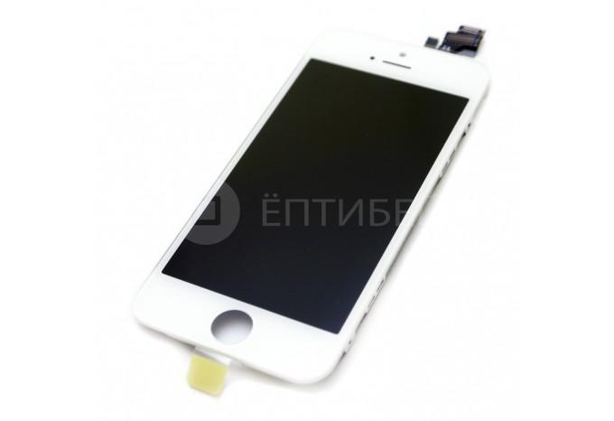 Модуль дисплея (тач стекло и матрица) для iPhone 5 белый