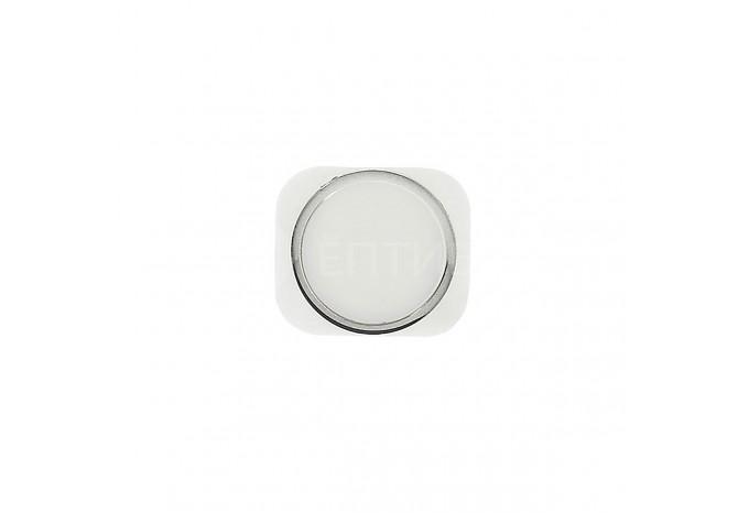Кнопка HOME для iPhone 5 White в стиле iPhone 5S Silver