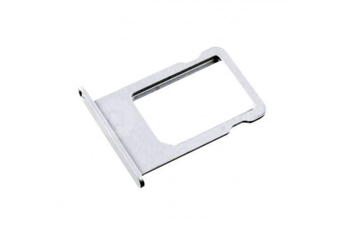 Сим-лоток (Nano Sim Card Tray) для Nano сим карты для iPhone 5 белый