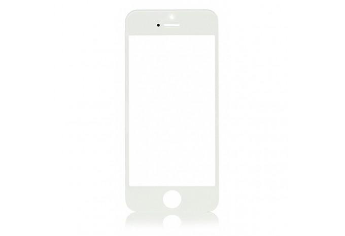 Стекло для экрана iPhone 5 / 5C / 5S белое