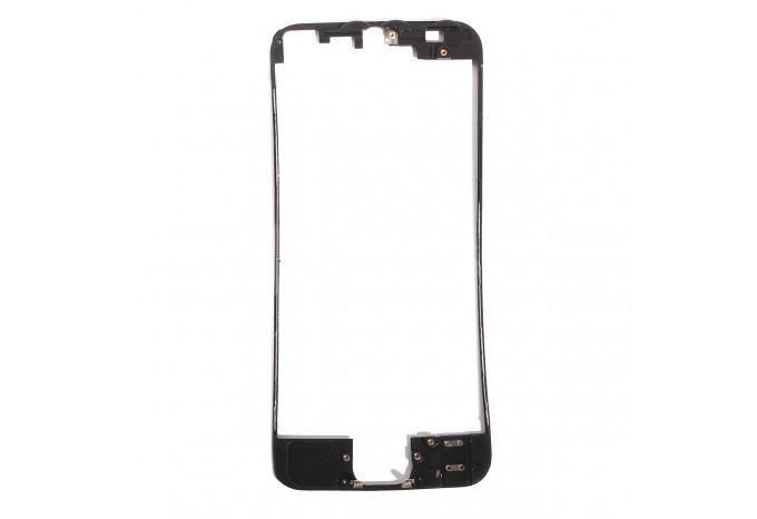 Пластиковая рамка дисплея черная для iPhone 5