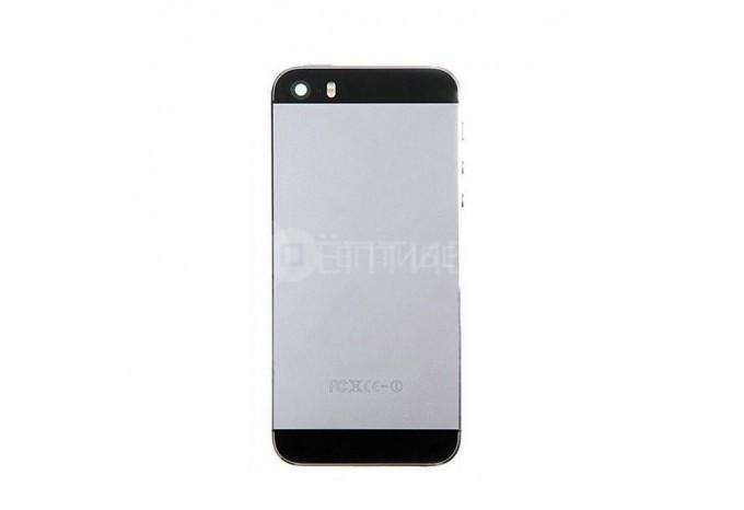 Задняя панель (корпус) для Apple iPhone 5S черного цвета