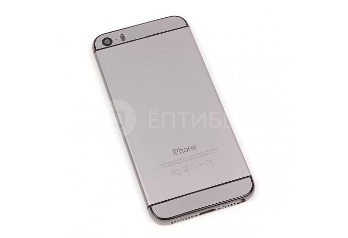 Корпус для iPhone 5S в стиле iPhone 6 Space Gray