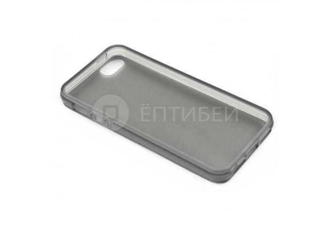 Пластиковый защитный чехол для iPhone 5 / 5S черный