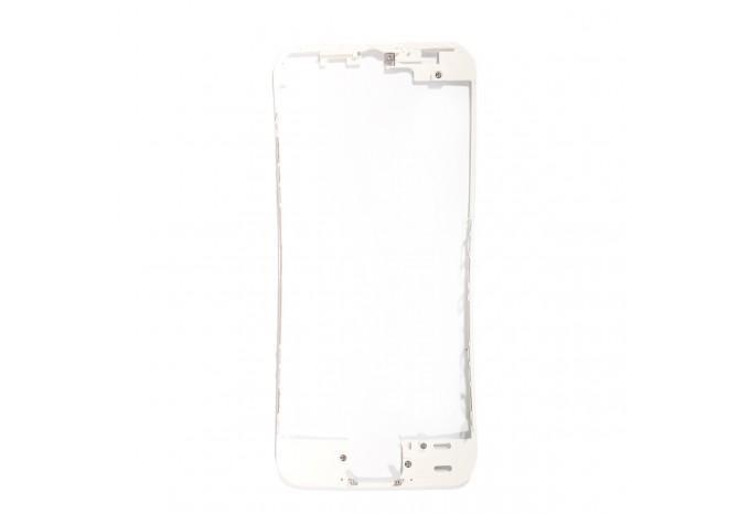 Пластиковая рамка дисплея белая для iPhone 5S