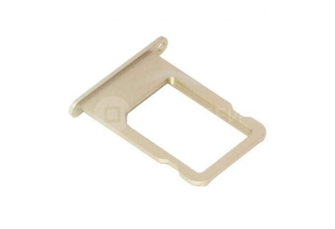 Сим-лоток (Nano Sim Card Tray) для Nano сим карты для iPhone 5S, SE золотой