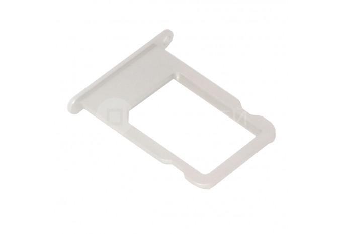 Сим-лоток (Nano Sim Card Tray) для Nano сим карты для iPhone 5S, SE белый
