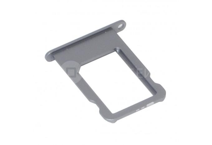 Сим-лоток (Nano Sim Card Tray) для Nano сим карты для iPhone 5S, SE серый