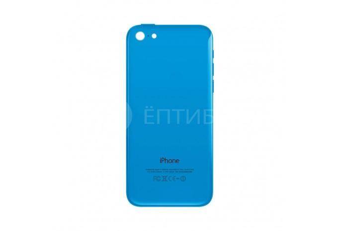 Задняя панель (корпус) для Apple iPhone 5C синий