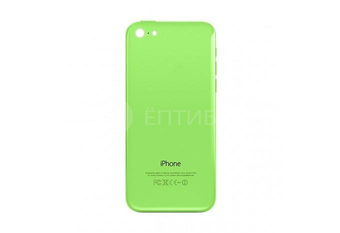 Задняя панель (корпус) для Apple iPhone 5C зеленый