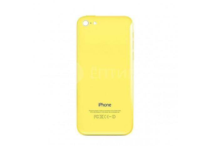 Задняя панель (корпус) для Apple iPhone 5C желтый