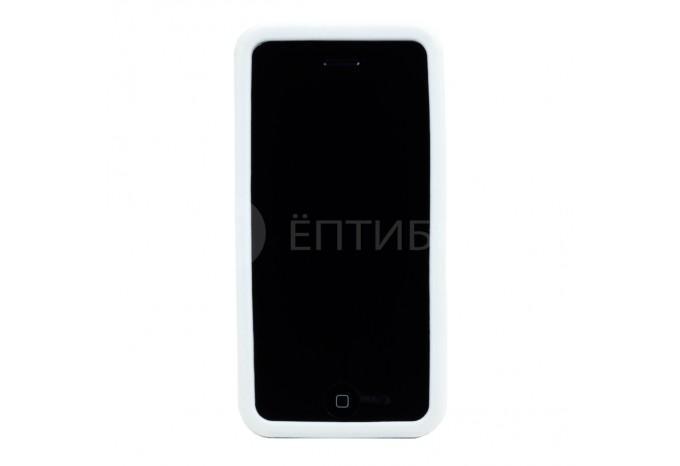 Пластиковый защитный чехол для iPhone 5C белый