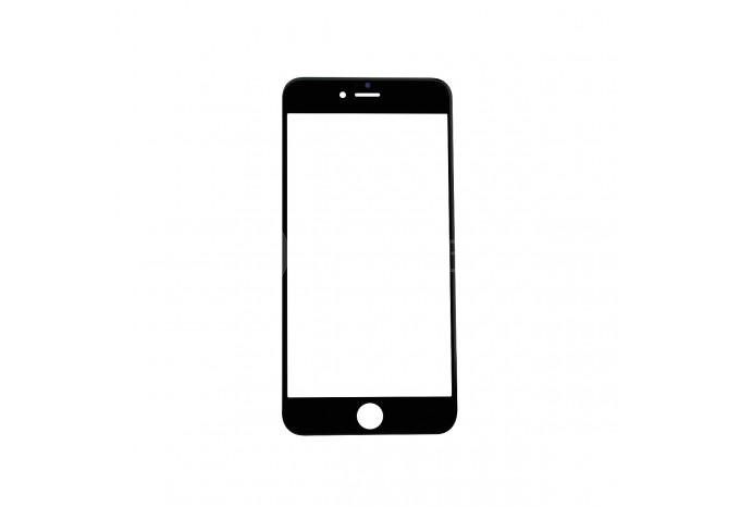 Стекло для экрана iPhone 6 Plus черное