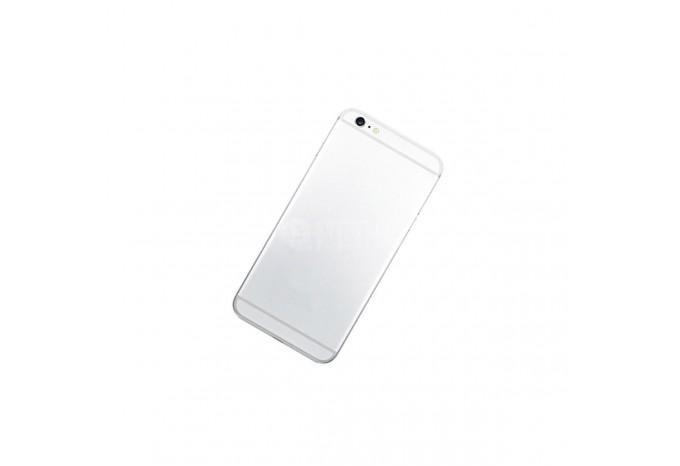 Задняя панель (корпус) для Apple iPhone 6 Plus серебряного цвета
