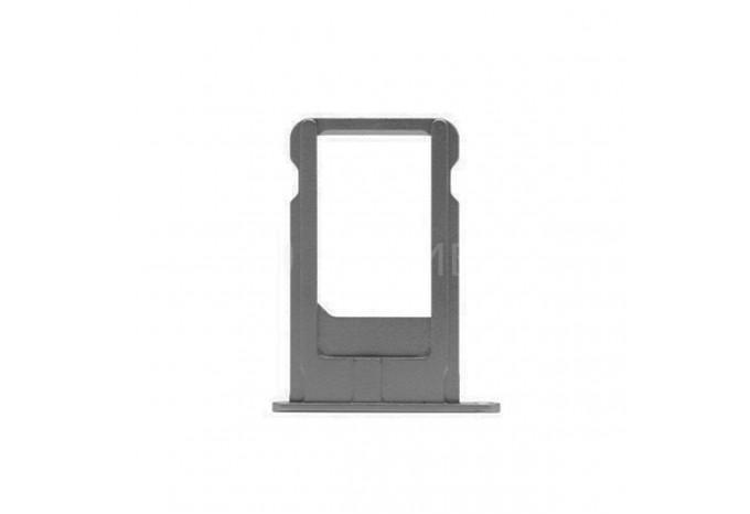 Сим-лоток (Nano Sim Card Tray) для Nano сим карты для iPhone 6 Plus черный