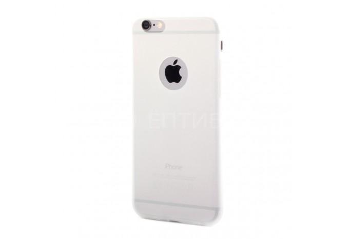 Силиконовый защитный чехол для iPhone 6 прозрачный