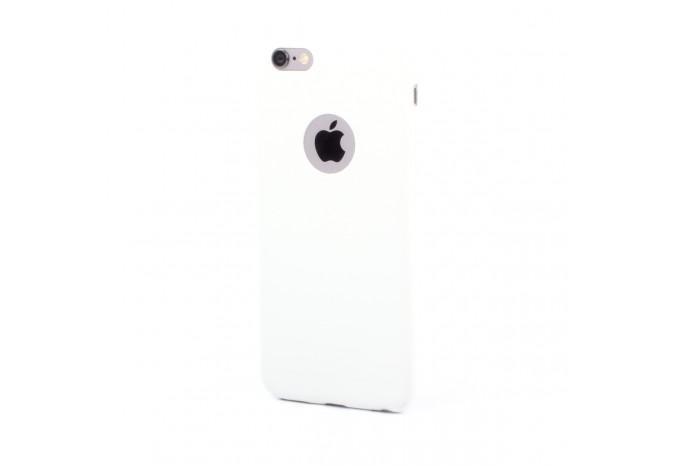 Силиконовый защитный чехол для iPhone 6 белый