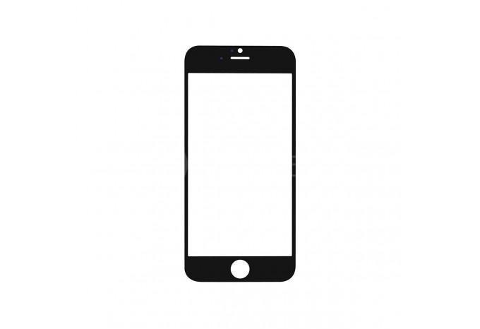 Стекло для экрана iPhone 6 черное