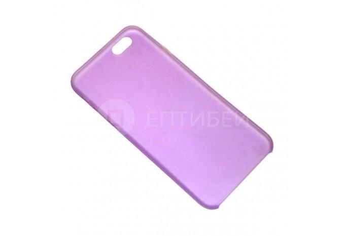 Фиолетовый полупрозрачный чехол для iPhone 6 / 6S