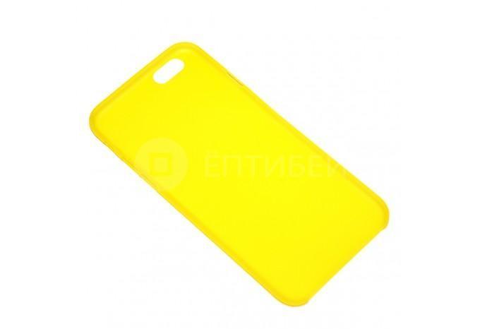Желтый полупрозрачный чехол для iPhone 6 / 6S