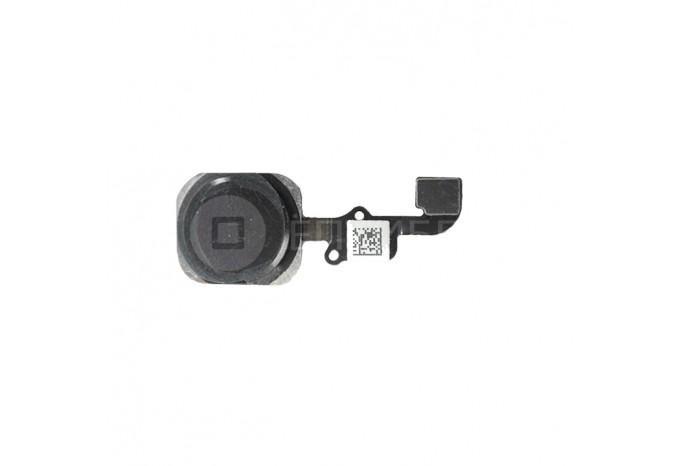 Кнопка HOME со шлейфом для iPhone 6 черная