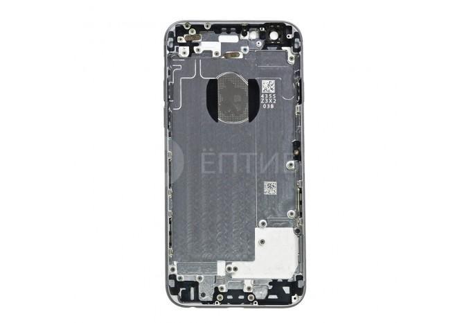 Задняя панель (корпус) для Apple iPhone 6 Серый космос