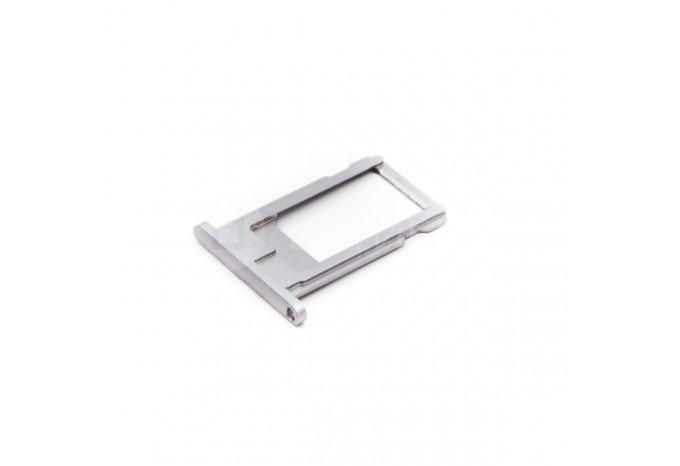 Сим-лоток (Nano Sim Card Tray) для Nano сим карты для iPhone 6 серый