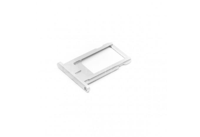 Сим-лоток (Nano Sim Card Tray) для Nano сим карты для iPhone 6 белый