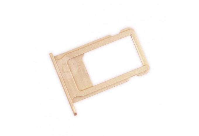 Сим-лоток (Nano Sim Card Tray) для Nano сим-карты для iPhone 6S Plus розовое золото