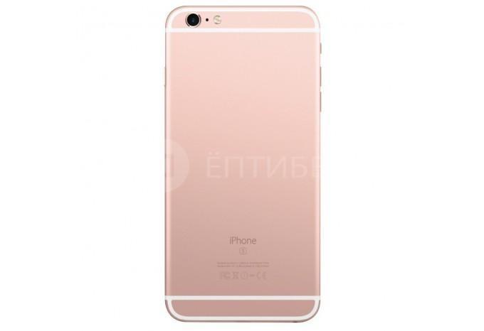 Задняя панель (корпус) для Apple iPhone 6s Plus розовое золото