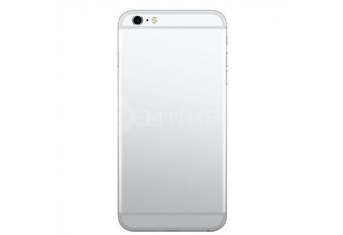 Задняя панель (корпус) для Apple iPhone 6s Plus серебристая