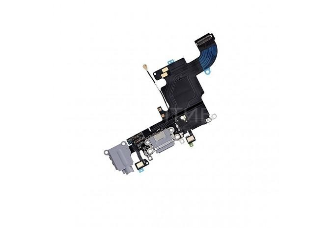 Нижний шлейф с микрофоном / Dock Connector / аудио выходом для iPhone 6s Space Gray