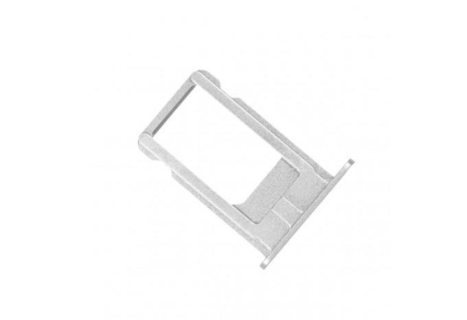 Сим-лоток (Nano Sim Card Tray) для Nano сим-карты для iPhone 6S серебристый