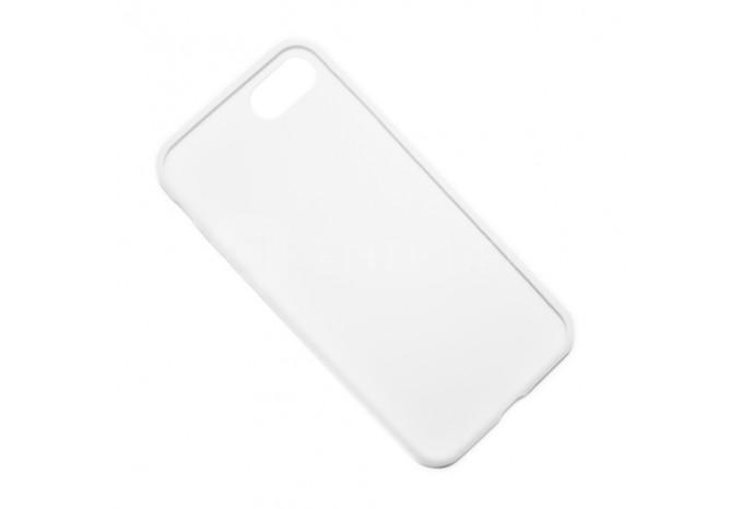 Ударопрочный силиконовый белый чехол для iPhone 7