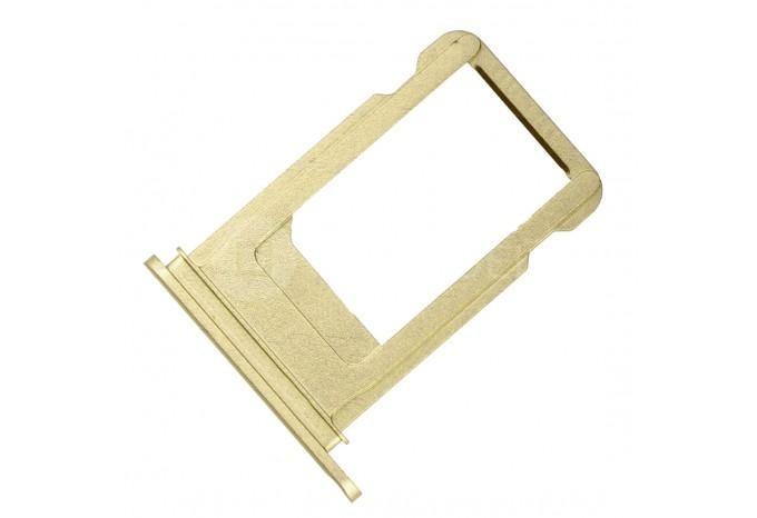 Сим-лоток (Nano Sim Card Tray) для Nano сим карты для iPhone 7 Plus золотой