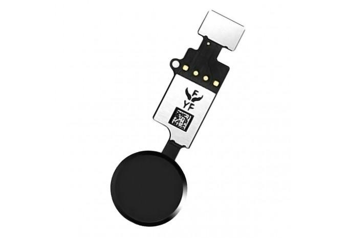 Кнопка HOME универсальная сенсорная для iPhone 7/7 Plus/8/8 Plus чёрная