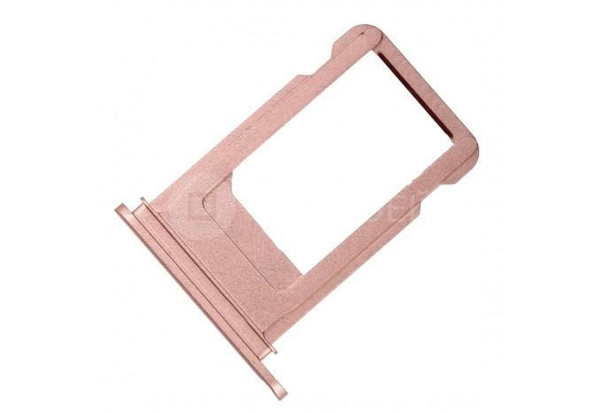 Сим-лоток (Nano Sim Card Tray) для Nano сим карты для iPhone 7 Plus розовое золото