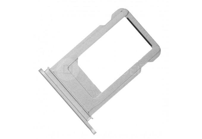 Сим-лоток (Nano Sim Card Tray) для Nano сим карты для iPhone 7 Plus серебро