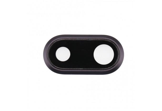 Стекло задней камеры для iPhone 8 Plus Space Gray