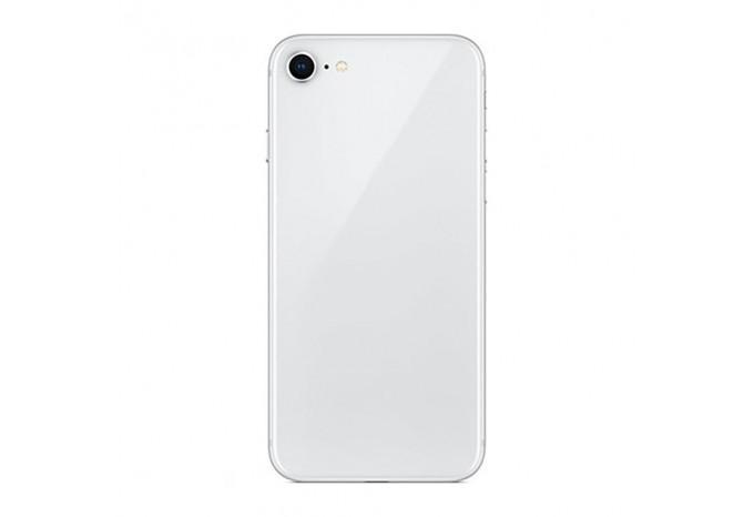Корпус на iPhone 8 в сборе серебристый