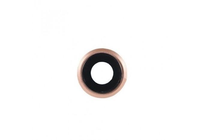 Стекло задней камеры для iPhone 8 Gold