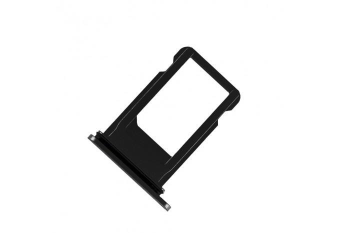 Сим-лоток (Nano Sim Card Tray) для Nano сим карты для iPhone 8 чёрный