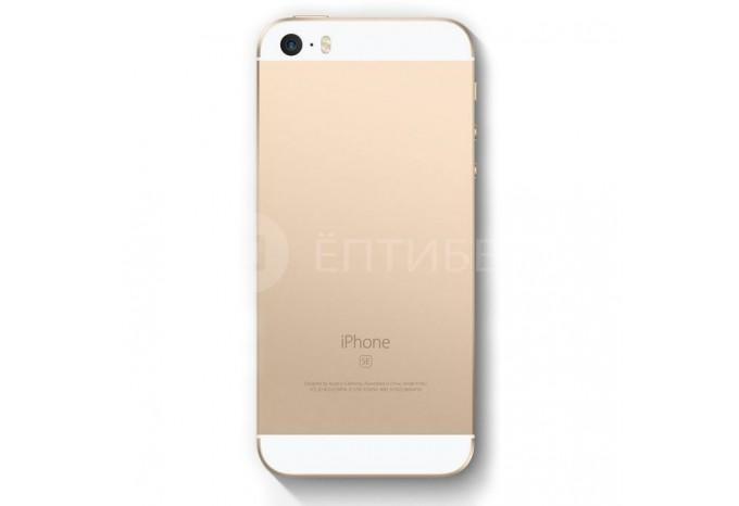 Корпус для iPhone SE золотой