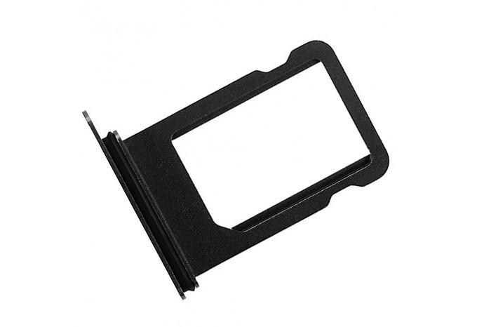 Сим-лоток (Nano Sim Card Tray) для Nano сим карты для iPhone X чёрный