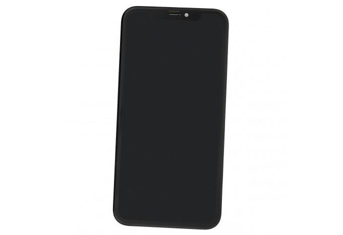 Дисплей в сборе (тач стекло и матрица) для iPhone XR чёрный