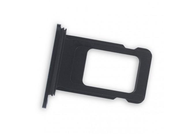 Лоток для сим карты iPhone XR черный