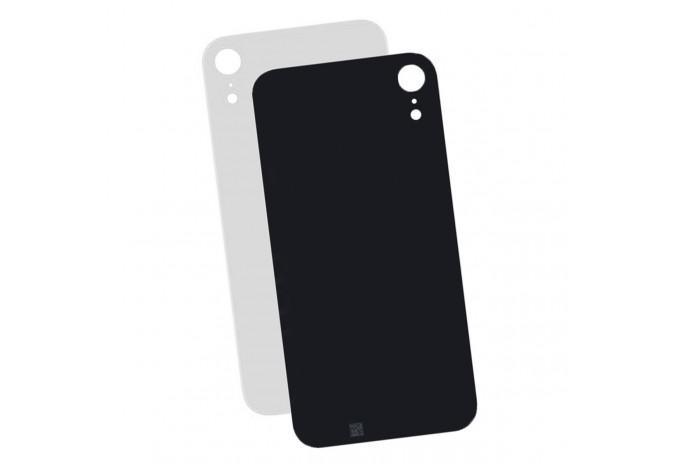 Задняя стеклянная крышка iPhone XR белая