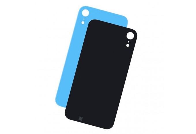Заднее стекло корпуса iPhone XR синее